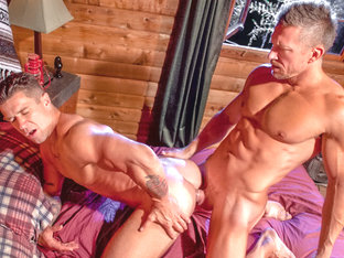 Trenton Ducati & Tomas Brand in The Woods: Part 1, Scene #05