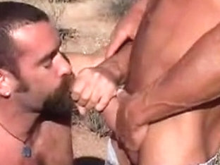 Hunk with dirty mouth sucks with lust his bf's hard rod