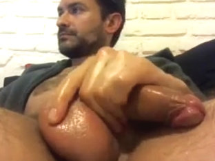 Str8 daddy oil on cam