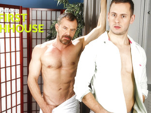 My First Bathhouse XXX Video