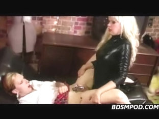 Cross Dressing Sissy Ass Fucked