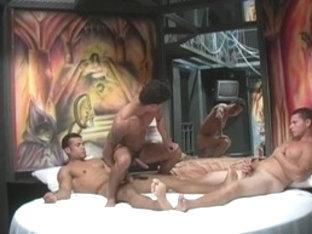 Incredible male pornstar in amazing blowjob, rimming homo xxx video
