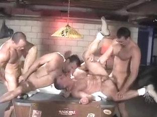 Hot Gay Guys Group Fucking