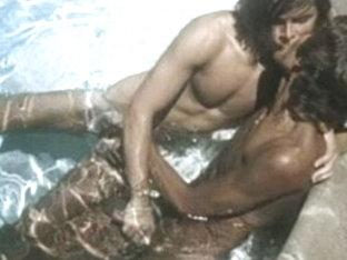 Horny male pornstar in fabulous group sex, vintage gay porn clip