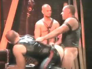 Horny male in crazy blowjob, group sex gay xxx clip