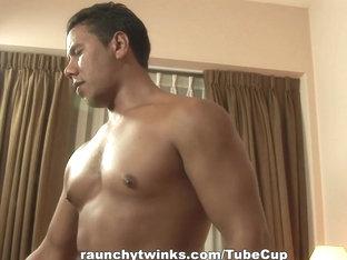 RaunchyTwinks Video: Wild Gay Rumble