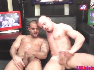 Hardcore british queer anal pounding