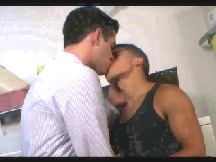 Gay Latin hunk makes love to his sissy boyfriend