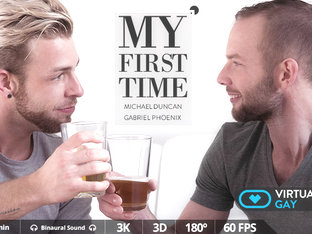 My First Time - Virtualrealgay
