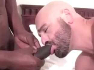 Hairy bald mandy craves BBC bareback