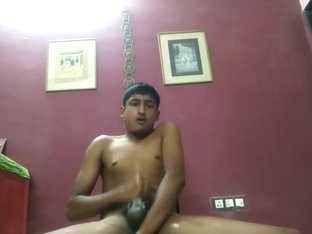 Indian boy masturbating