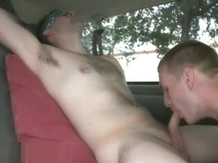 Handsome sleeping gay sex Gorgeous Day For Anal Sex On The Baitbus!