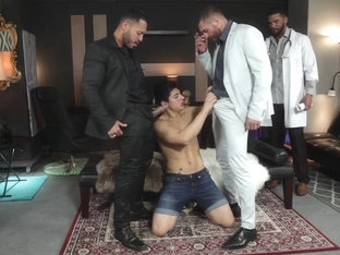 Horny sex scene homo Group Sex best uncut