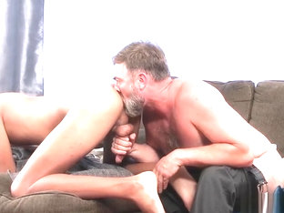 Horny hard stepdad teaches twink latino how to impress
