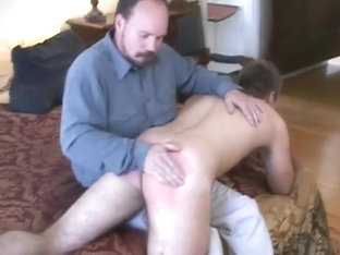 Naughty Boy Gets a Good Spanking