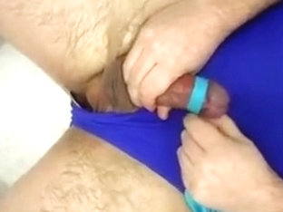 Tights and Swimsuit relief - heavy cum load