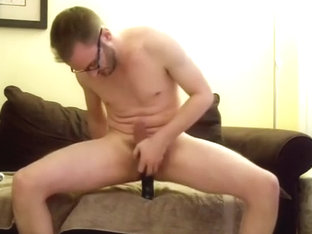 Sexy boyfriend is having a good time in the bedroom and memorializing himself on web camera