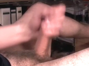 Dishy gay is relaxing at home and memorializing himself on computer webcam