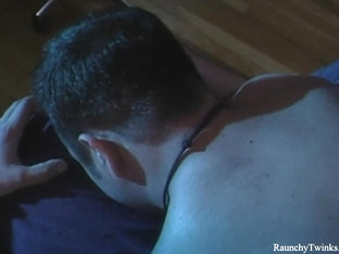 RaunchyTwinks Video: Raw Gay Sex After Massage