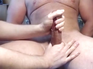Me milk hung studs veiny strapon - moaner