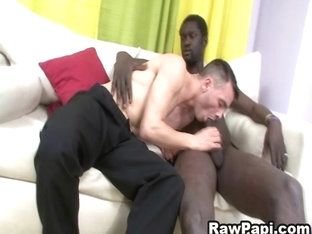 Latino Gay Suck A Black Cock And Have Bareback