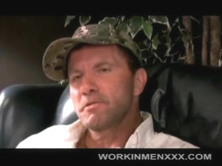 WorkinmenXXX Video: Rick Beats Off