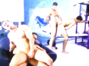 Hottest male pornstars Janos Volt and George Vidanov in best sports, masturbation homo sex clip