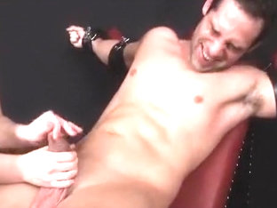ronny tickled and milked