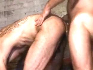 Crazy male in best bears, bareback homosexual xxx scene