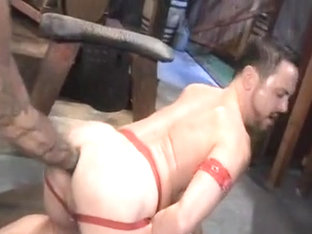 Horny male in hottest fetish homosexual porn clip