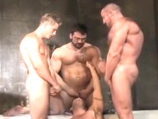 Incredible male in best bears, hunks gay xxx clip