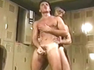 Incredible male in hottest sports gay adult movie