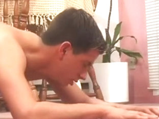Boyfrend Teaches His Ally How To Take A Pecker Up The Butt -pc