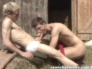RaunchyTwinks Video: Country Boys