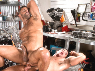 David Benjamin & Nick Capra in Auto Erotic, Part 2 Video