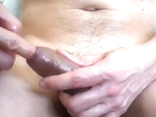 wank close up