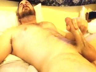 TW on cam stroking his cock
