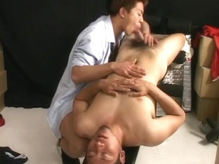 Exotic Asian homosexual twinks in Horny JAV clip