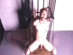 Straight Muscle Guy Tortured Edged