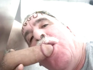 GLORYHOLE & UNDERSTALL FAGGOTS SUCKING COCK & CUM DRINKING IN PUBLIC!!