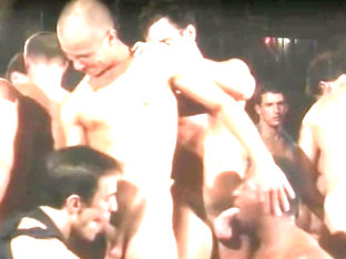 Hardcore orgy in an underground bar - VCA