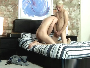 Lusty dick rider Tony Parker prepares his ass for Titus Snow