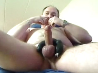 Jerking and fucking my self