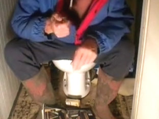 nlboots - jogging trousers, rubber boots and WC