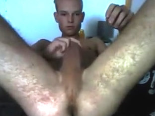 Netherlands  Cute Athletic Boy Cums On Cam  Very Hot Ass