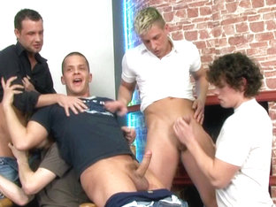 Ggc #46 Ass Banged Party Studs  Scene 1 - Bromo