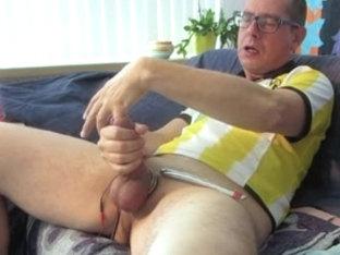 Borussia Dortmund BDSM masturbating, 12 min. to score sperm!