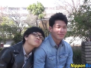 Cock sucking asian twinks