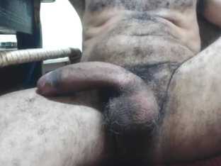 Papa has a big hairy donkey dick