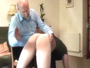 How to spank a big bad boy.
